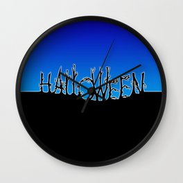 Halloween Night Wall Clock