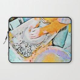 Hands of the ceramist craftsman Laptop Sleeve