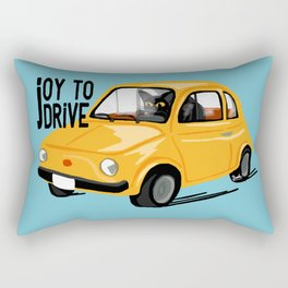 Joy to drive Rectangular Pillow