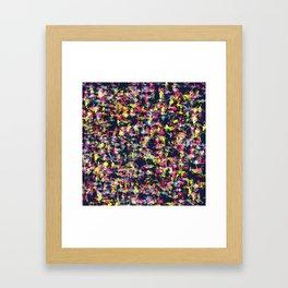 Texture Watercolor Framed Art Print