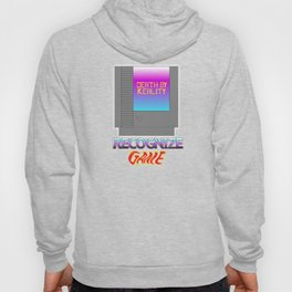 DEATH BY REALITY CARTRIDGE (Recognize Game) Hoody