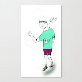 Billy No Mates Canvas Print