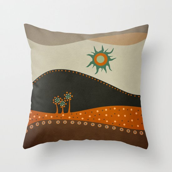 Sweet. Land. Throw Pillow