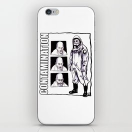 Contamination // I Know How You Feel iPhone Skin
