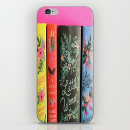 Puffin in Bloom - Pink iPhone Skin