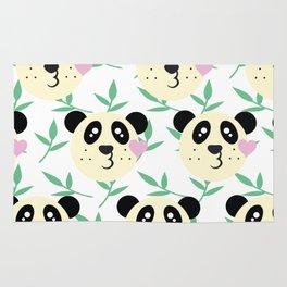 WWF Panda Donations Rug