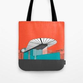 Turquoise Island Tote Bag