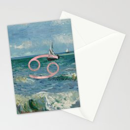 Fine Zodiac / Cancer Stationery Cards