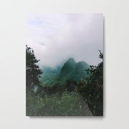 El Yunque Metal Print