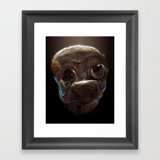 Alien Bug Framed Art Print