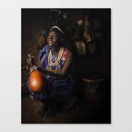 Linah Canvas Print