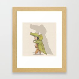 BOOO!! Framed Art Print