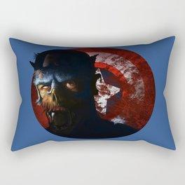 The Zombie captain Rectangular Pillow