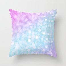 Pastel Glow Throw Pillow