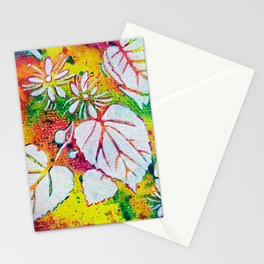 Leaves on the World Tree: Czechs Lípa ( Linden or Lime ) Stationery Cards