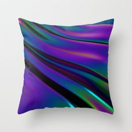 Subshine - Drape - Easy Window Throw Pillow