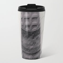 Old Montreal Columns Travel Mug