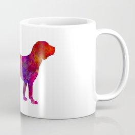 Spanish Hound in watercolor Coffee Mug