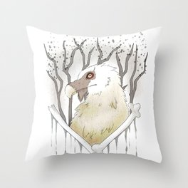 Bonelord Throw Pillow
