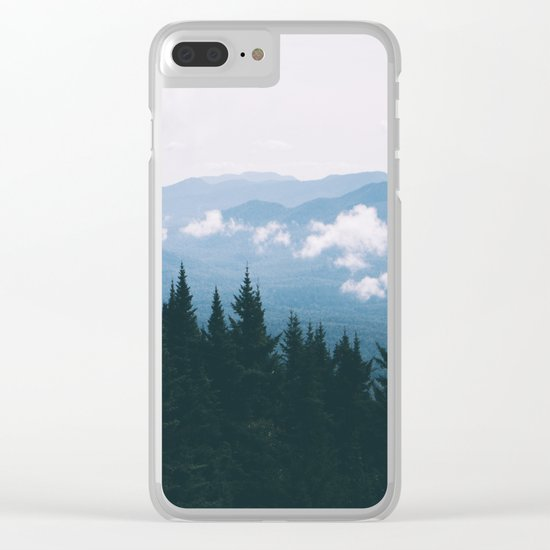 Forest XXIII Clear iPhone Case