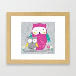 Owl Lover  Framed Art Print