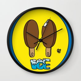 Icecream Smiley Wall Clock
