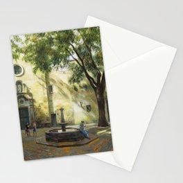 Sant Felip Neri square, Barcelona Stationery Cards