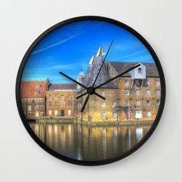 Three Mills Bow London Wall Clock