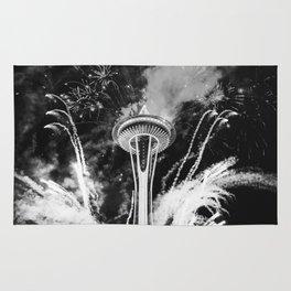 Seattle Space Needle Celebration Rug
