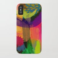 fruits iPhone & iPod Cases featuring FRUITS by Rebecca Allen