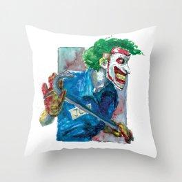 Joker Dc Throw Pillow