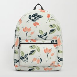Viburnum Botanical pattern Backpack