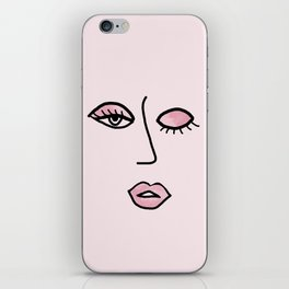 Light Pink Vampy Vixen iPhone Skin