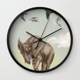 DREAMS BECOME TRUE Wall Clock