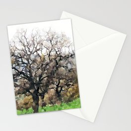 Oak Stationery Cards