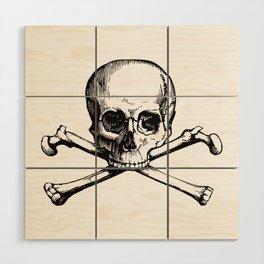 Skull and Crossbones | Jolly Roger Wood Wall Art