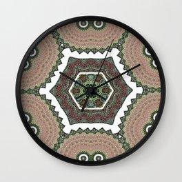 Resurrect Mandala 3 Wall Clock