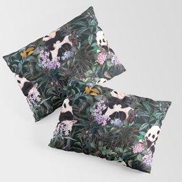 Rainforest Pandas Pillow Sham