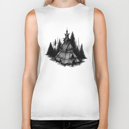 Fantoft Stave Church Biker Tank