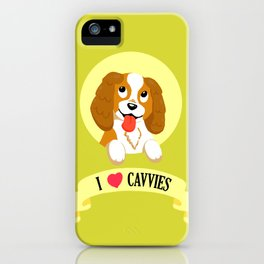 I Heart Cavvies iPhone Case