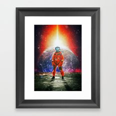 Still Standing Framed Art Print