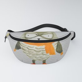 Wise Owl Forest Friends Baby Animals Fanny Pack