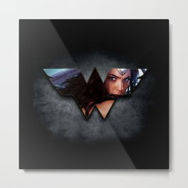 WonderWoman Metal Print