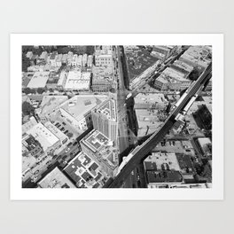 Six Corner Street View Art Print