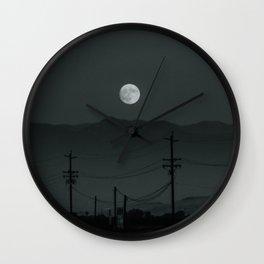aries moon ii Wall Clock