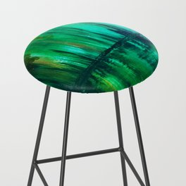 Green reflection Bar Stool