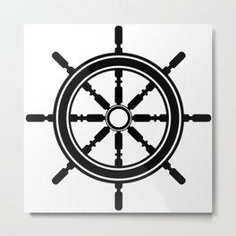 Anchors Aweigh 2 Metal Print