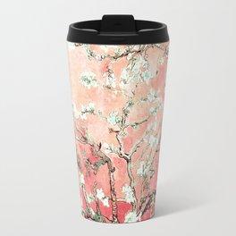 Van Gogh Almond Blossoms : Peach Travel Mug