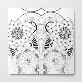 Mandala Series 04 Metal Print