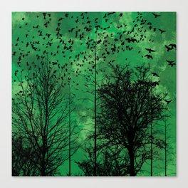 Turning Green Canvas Print